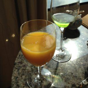 リッツカールトン東京 オレンジジュース